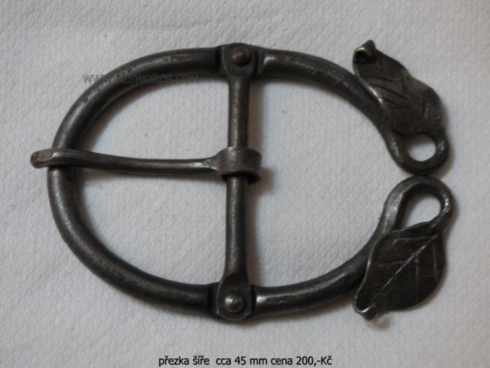 Hand forged buckle